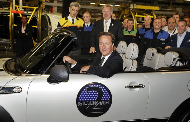 david cameron mini convertible