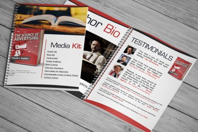 Author Media Kit Customizable Template