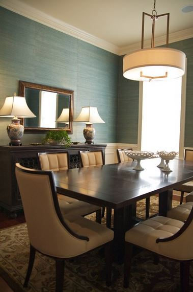 Grasscloth + Wainscoting (The Perfect Combo For My Living Room) - Addicted 2 Decorating®