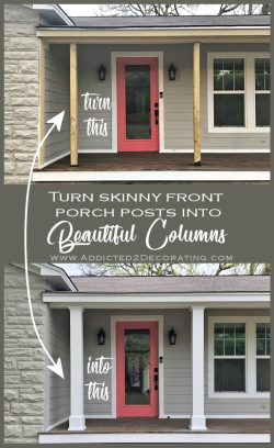 Small Of Front Porch Columns