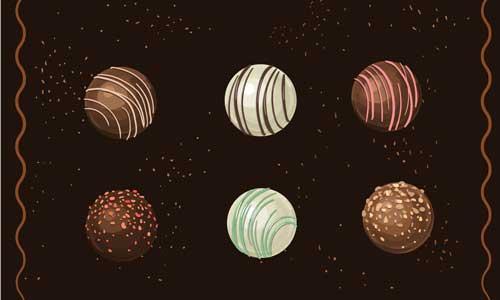 Caisse enregistreuse chocolatier