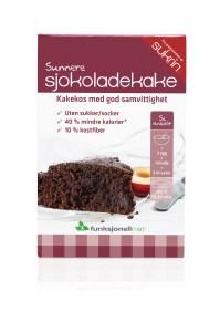Bizcocho de chocolate Sukrin