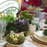 Whimsical Woodland Tablescape
