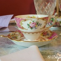Tea at The Potted Geranium