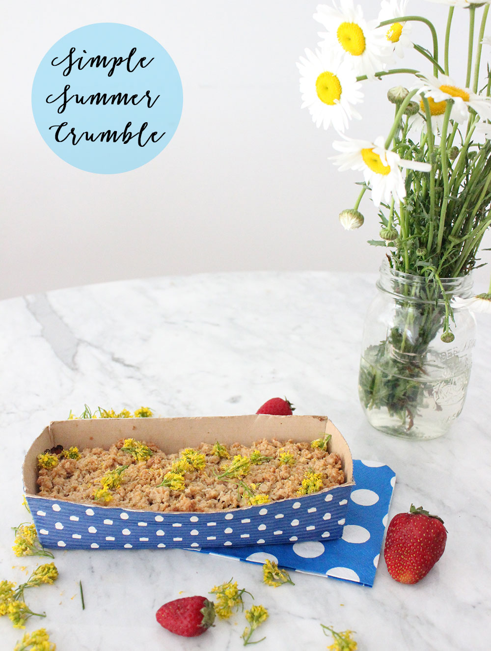 Simple Summer Crumble