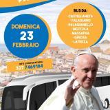 Papa Francesco a Bari: il viaggio in bus