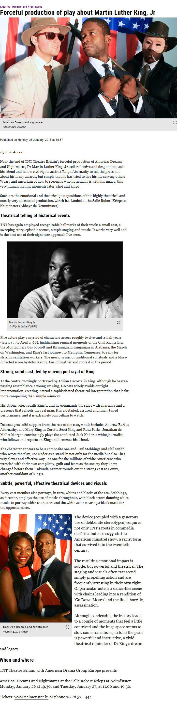 MLK Luxemburger Wort