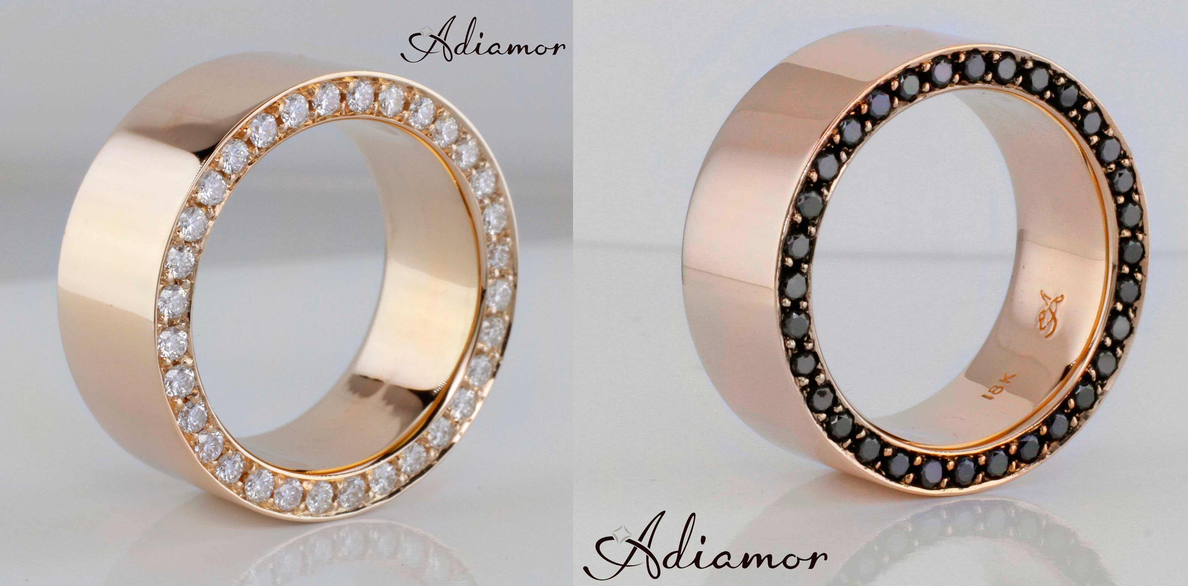 mens wedding bands wedding rings men customer favorite Custom Rose Gold Men s Rings