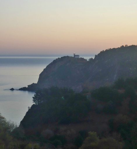 View Getaria Lighthouse