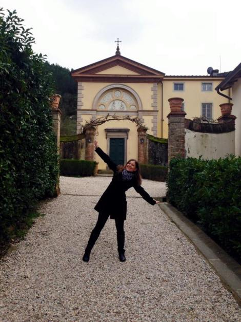 House-sitting on a Tuscan Villa property in Feb 2016