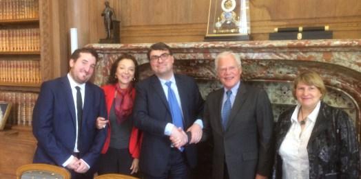 Convention avec l'Ordre des avocats du Barreau de Paris