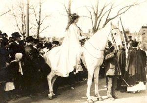 Inez Milholland, 1913