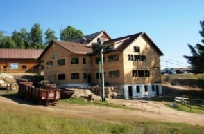 Base lodge expansion at Titus Mountain