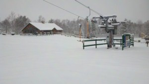 New T-bar lift at Mount Pisgah became operational in January 2012