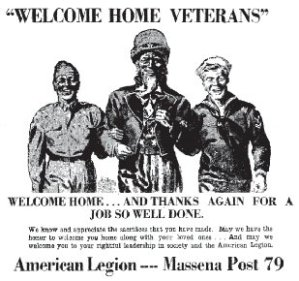 19451119 Ad Welcome Home Vets 4H
