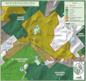 Adirondack Council proposal for Boreas Ponds
