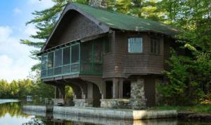 Northwoods Lodge Boathouse Osgood Pond