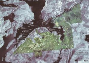Adirondack Club and Resort Map