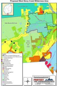 West Stony map