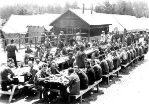 Adirondack CCC  camp