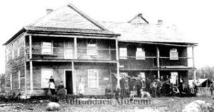 Joseph Dunbar's Hotel at Stillwater, the original Clubhouse