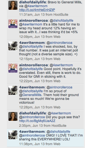 Screen shot of joining the conversation on twitter
