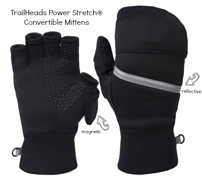 Power Stretch Convertible Mittens