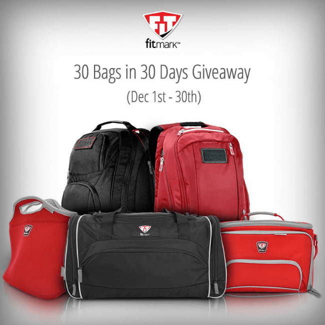 Fitmark 30 Bags in 30 Days Giveaway