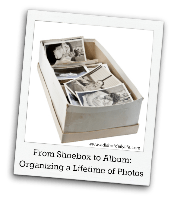 Organizing a Lifetime of Photos