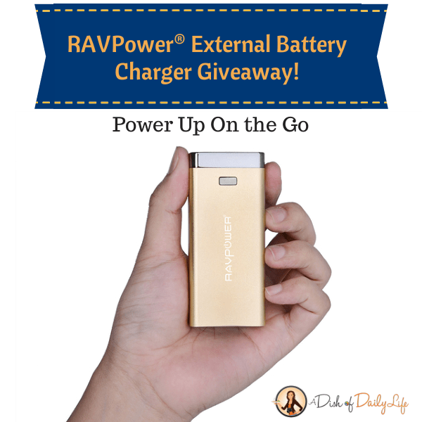RAVPower® External Battery Charger Giveaway