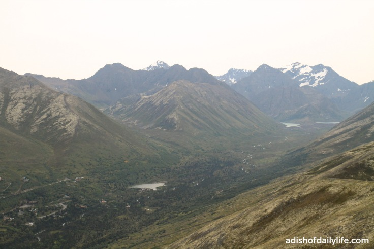 Hiking Arctic Valley