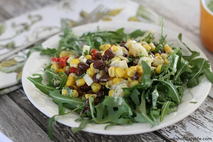 Southwestern Black Bean & Corn Salad