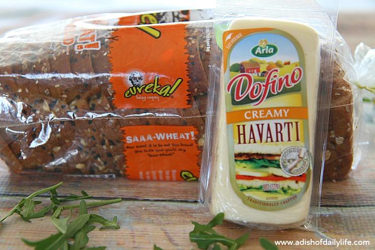 Arla Dofino Havarti and Eureka Saaa-Wheat!