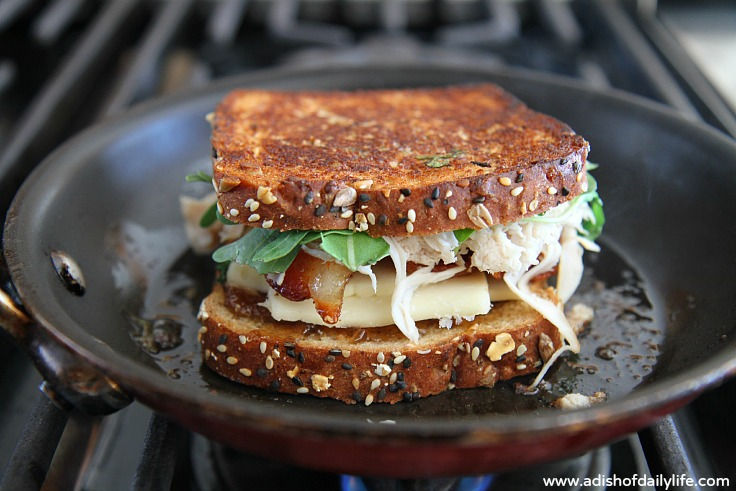 Not your Mom's Grilled Cheese
