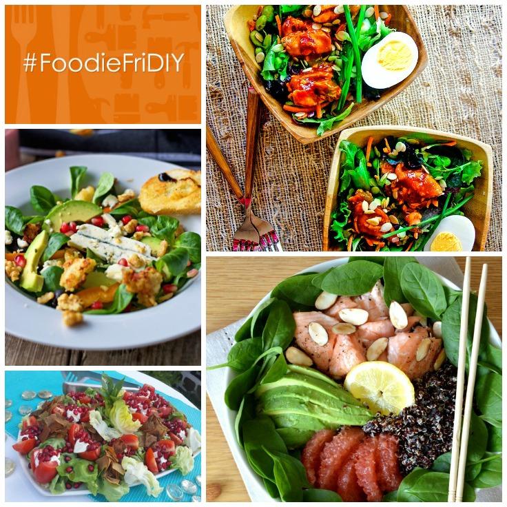 Salads #FoodieFriDIY