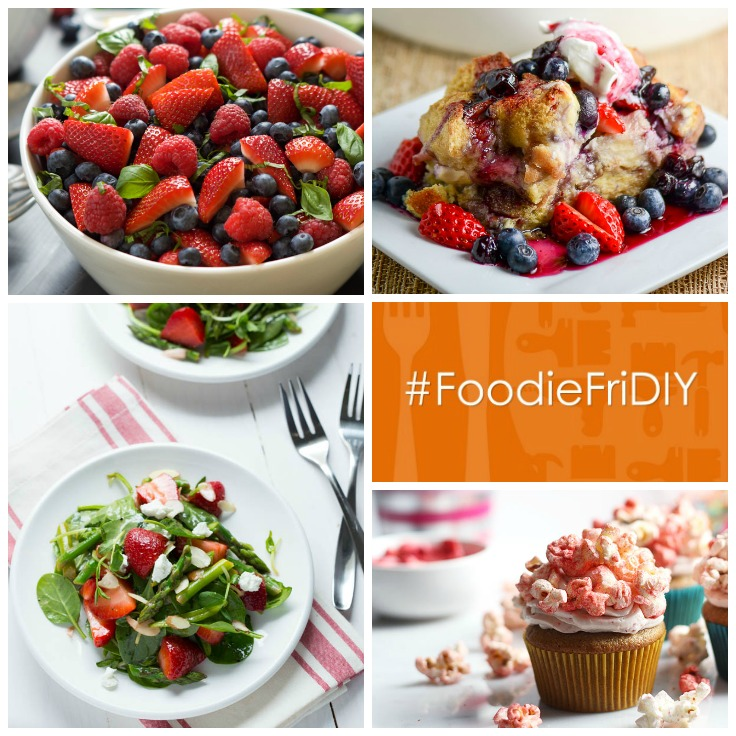 Strawberry Recipes #FoodieFriDIY
