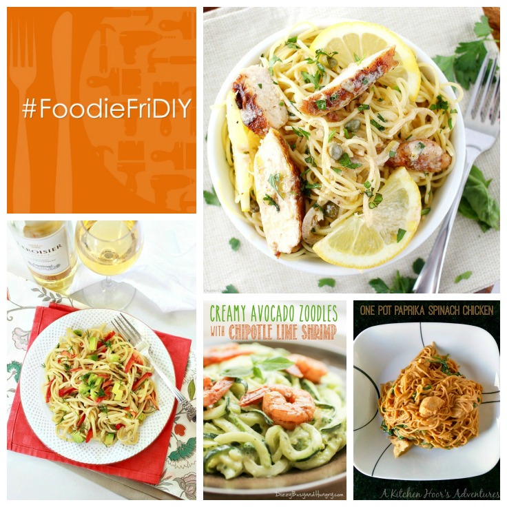 Fast and Easy Pasta at #FoodieFriDIY