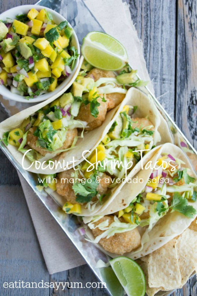 Coconut-Shrimp-Tacos-with-mango-and-avocado-salsa