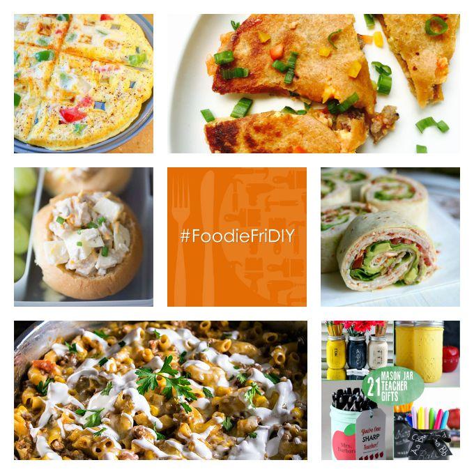 Back to School Edition, #FoodieFriDIY
