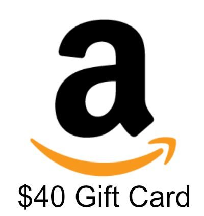 $40 Gift Card giveaway