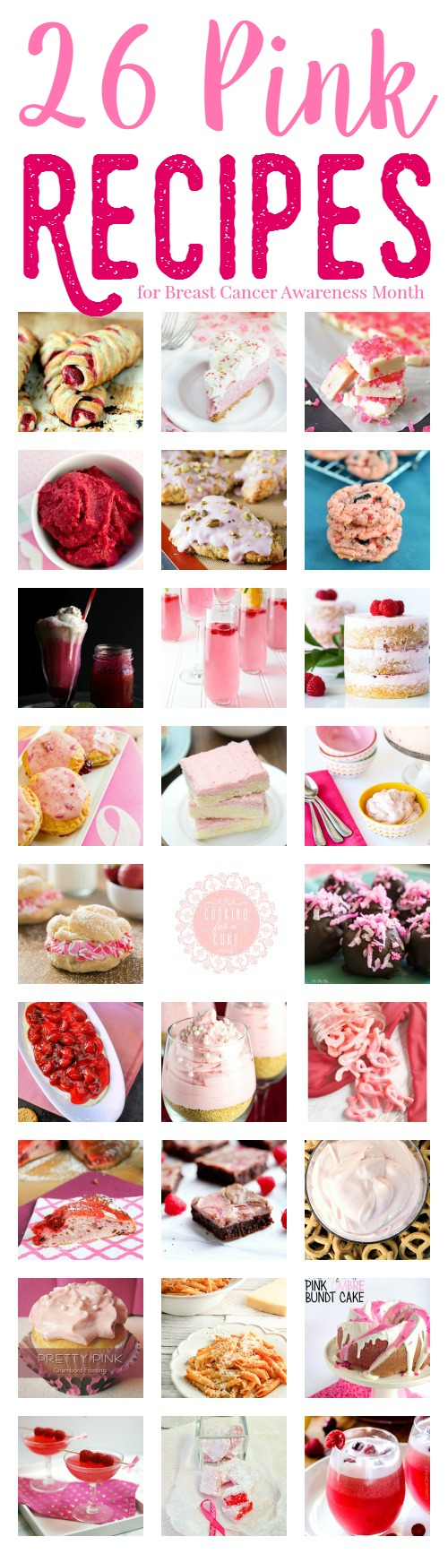 26 Pink Recipes for Breast Cancer Awareness