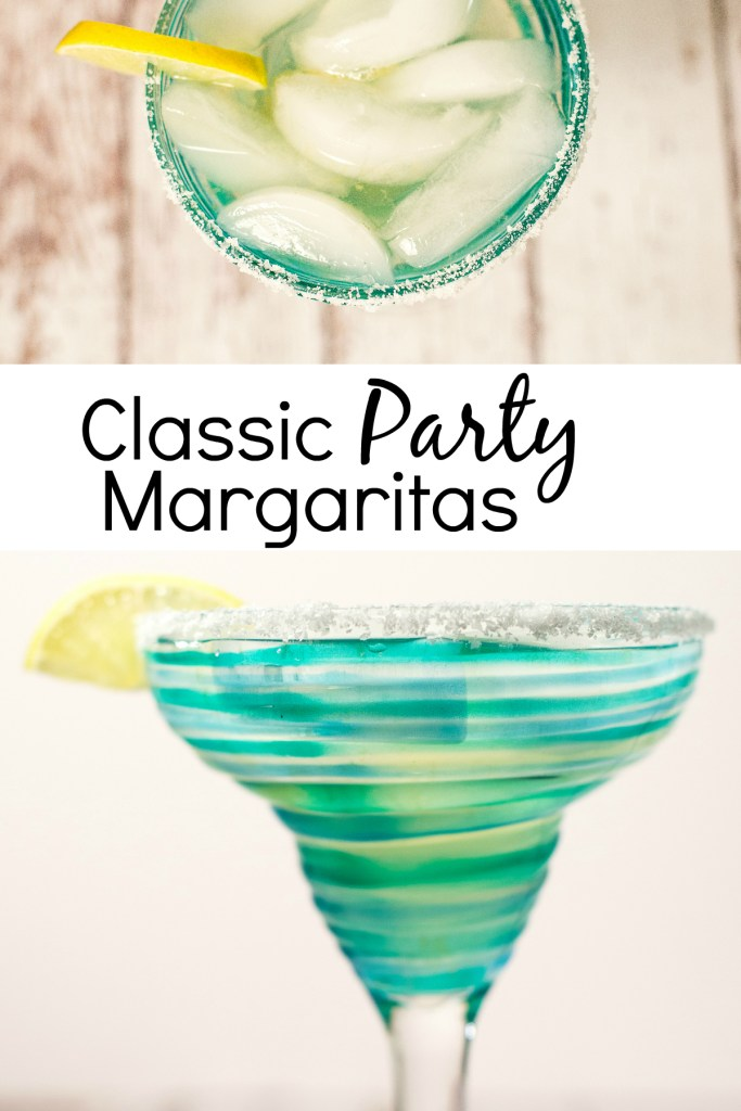 This Classic Party Margaritas recipe is perfect when you are serving a group of people and want a simple, delicious, no-fuss margarita that everyone will love.