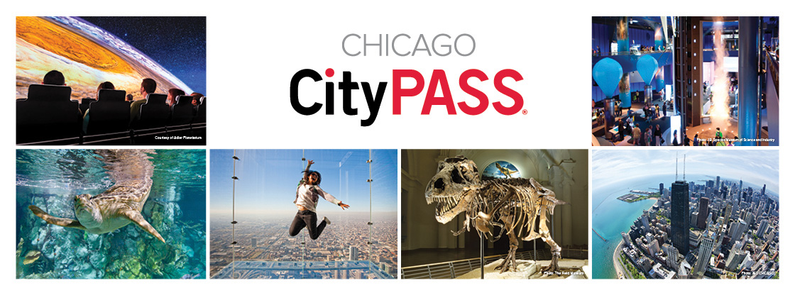 Save 53% and enjoy VIP access to the Adler Planetarium or The Art Institute of Chicago, Shedd Aquarium, The Field Museum, Skydeck Chicago, and 360 CHICAGO or Museum of Science and Industry.