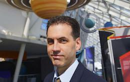 Adler Planetarium's Vice President of Astronomy, Dr. Andrew K. Johnston