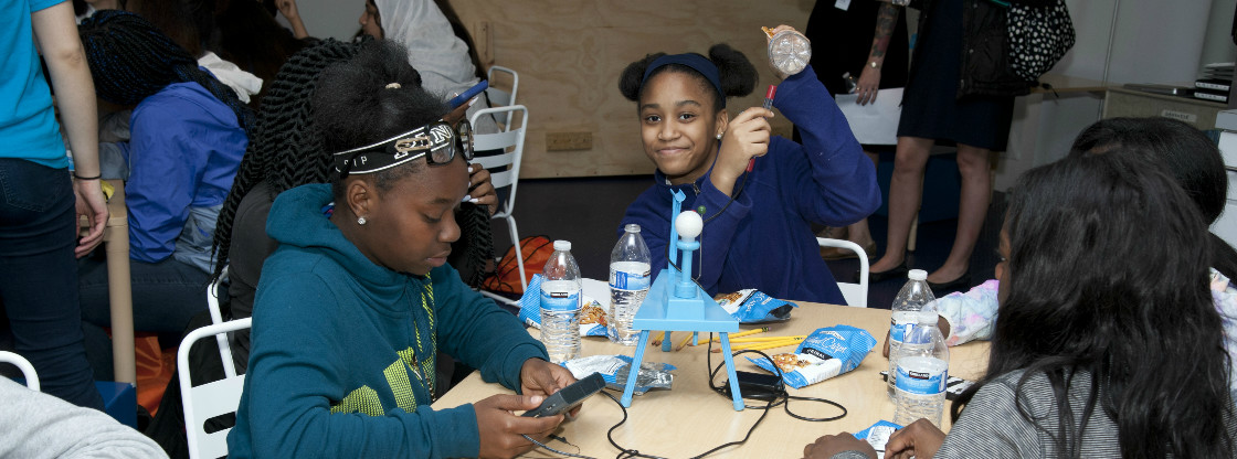 Young Women Explore STEM Projects