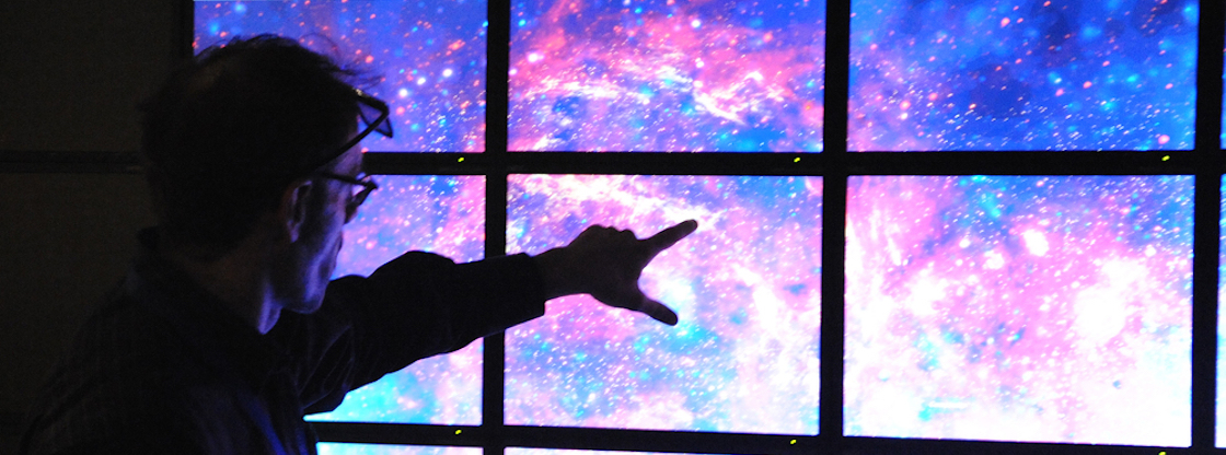 Discover new worlds in space exploration in the Adler Planetarium's Space Visualization Lab.