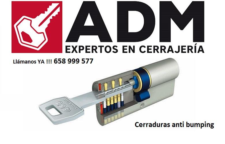 Cerrajeros valencia 24 horas adm 658 999 577 for Cerraduras tesa anti bumping