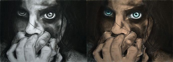 Photoshop ile Çizim Renklendirme