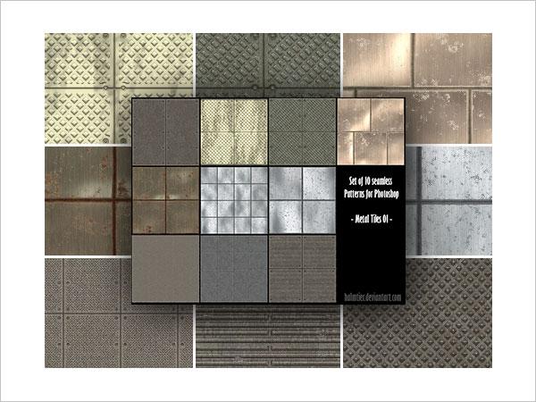 Metal Tiles 01