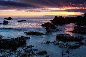 Porth Y Post Sunset Path